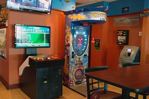 Classic arcade games in a Richmond VA pub